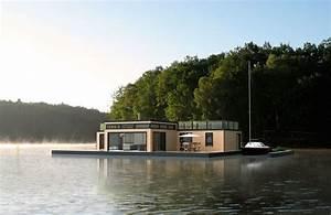 Maison Flottant Prix : maison flottante 140 m aquashell ~ Dode.kayakingforconservation.com Idées de Décoration