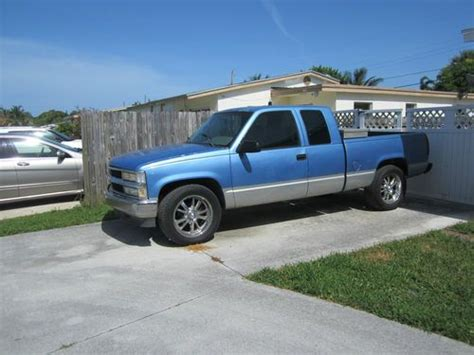 how to sell used cars 1996 chevrolet 2500 free book repair manuals find used chevy 2500 extended cab 1996 in west palm beach florida united states for us 3 500 00