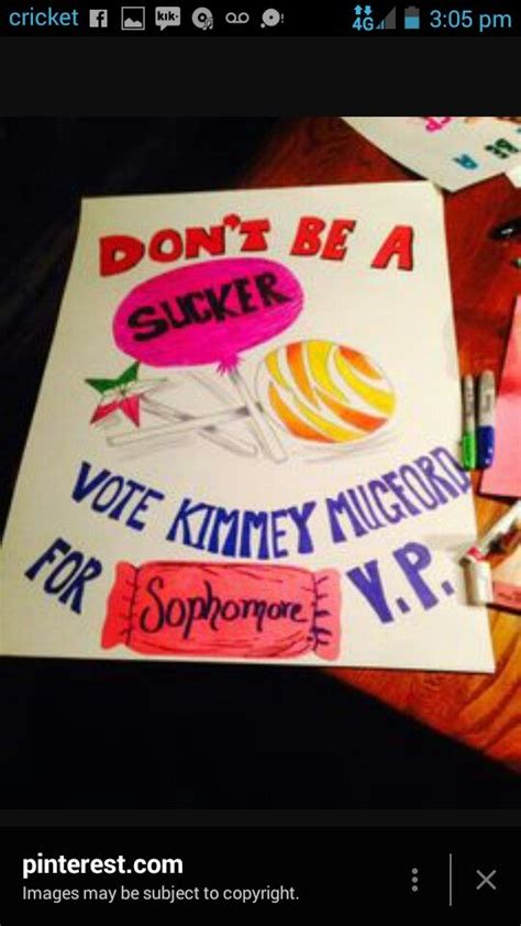 campaign idea prom posters pinterest campaign ideas