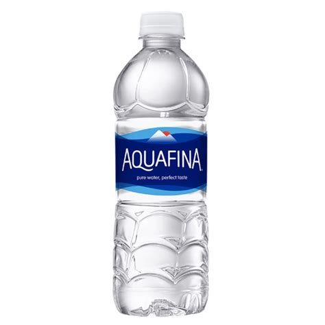 water bottle with handle aquafina purified water 16 9 oz plastic bottles pack of 24