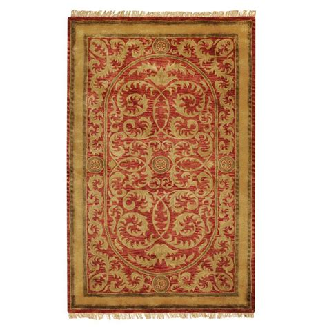 home decorators collection colette red 12 ft x 18 ft