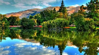 Nature Reflection Scenic Lake Desktop Wallpapers Landscape