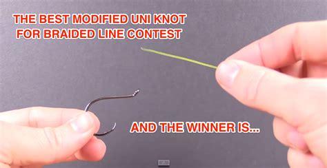 modified uni knot  braided