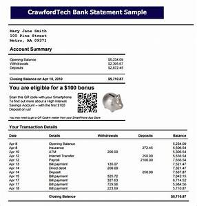 Excel Bank Register Free 9 Bank Statement Templates In Pdf