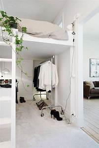 Lit Mezzanine Dressing : les 25 meilleures id es de la cat gorie chambre avec lit ~ Premium-room.com Idées de Décoration
