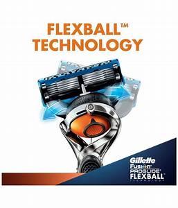 Gillette Fusion Proglide Flexball Manual Shaving Razor