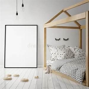 Mock Up Poster Frame In Children Room, Scandinavian Style ...