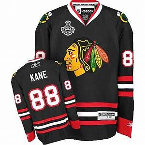 Chicago Blackhawks 88 Patrick Kane Authentic Black Jersey