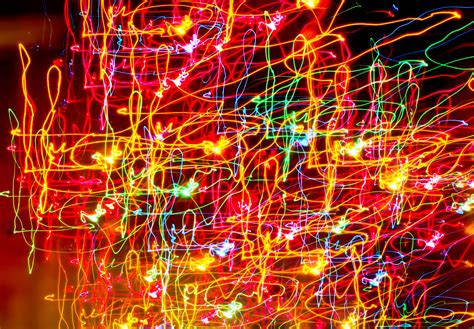 Free Abstract Photo by Random Colored Light Swirls Image Free Stock Photo