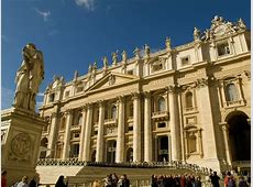 Photo Facade of Saint Peter's Basilica Jeff Geerling