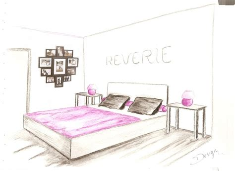 croquis chambre pin croquis chambre projet on