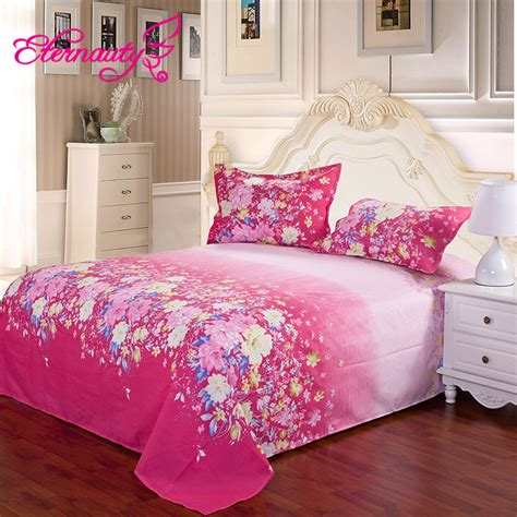 2015 4pcs summer style printed alice king size bedding