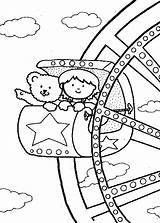 Ferris Coloring Wheel Pages Carnival Familycorner Crafts Activity Circus Friends Riding Corner Theme Sketch Fair County Sheets Rides Park Activities sketch template