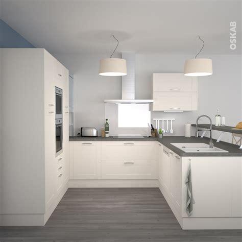 am駭agement meuble cuisine meuble de cuisine blanc quelle couleur pour les murs cool cuisine gris anthracite iduees pour une cuisine chic et moderne cuisine gris anthracite