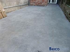nivremcom terrasse beton lisse et bois diverses idees With terrasse en beton lisse