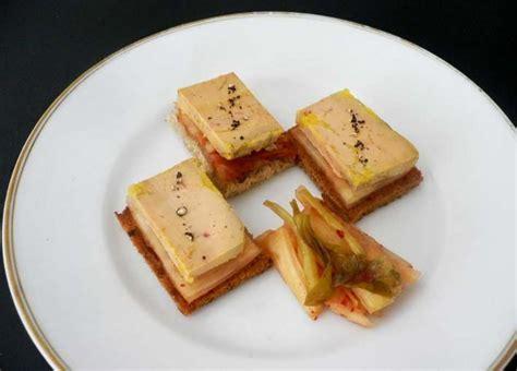canapé au foie gras photos canapé foie gras