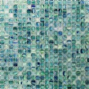 Splashback, Tile, Breeze, Caribbean, Ocean, 12, 4, In, X, 12, 4, In, X, 6, Mm, Glass, Mosaic, Tile