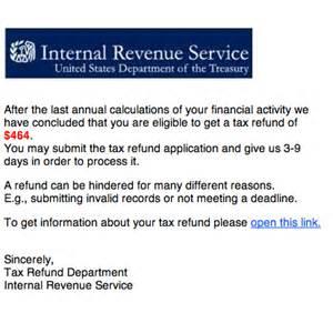 IRS Tax Refund Scam