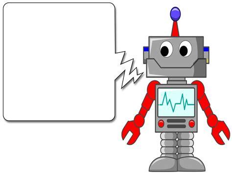 Friendly Robot Cartoon Slide