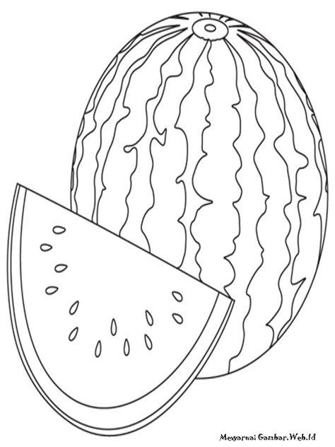 gambar gambar mewarnai buah mangga click kolase semangka
