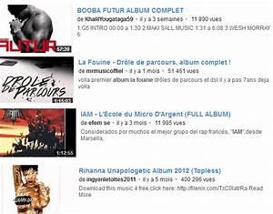 Musique Youtube Gratuit : couter des albums complets sur youtube le bon plan ~ Medecine-chirurgie-esthetiques.com Avis de Voitures