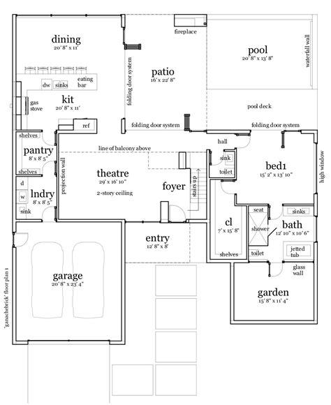 brick home floor plans ganache brick house plan tyree house plans