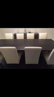 handmade modern dining table  bedre woodworking