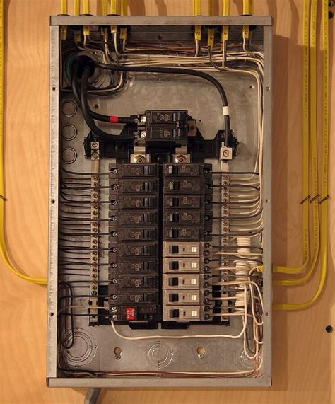 Electrical Panel Box Wiring Diagram by Residential Electric Repair Service In Hurst Euless