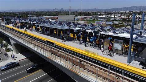 Santa Light Rail by Santa Expo Line Begins Route Simulations