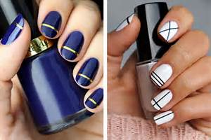 Very simple and beautiful nail art themes is an to d?cor