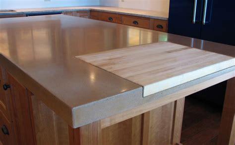 cutting board countertop 9 exles of concrete countertops done right designcast