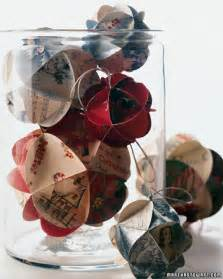 recycled christmas card crafts martha stewart holidays