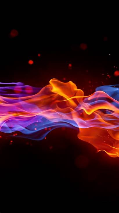 4k Fire Background Violet 5k Wallpapers Abstract