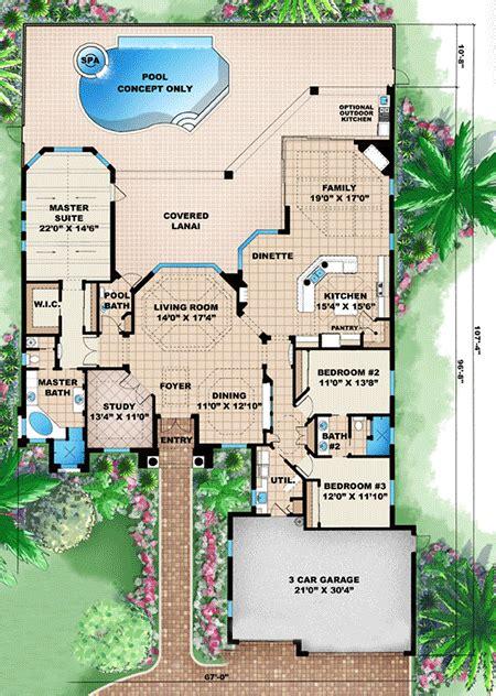 House Plan 1018 00042 Florida Plan: 2 885 Square Feet 3