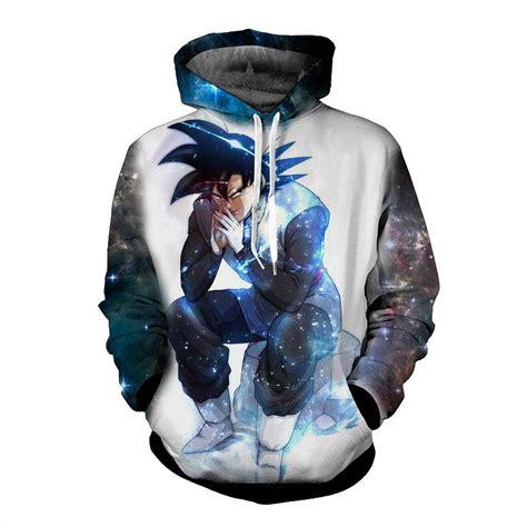 to sweater danger blue aura evil bad sitting goku black villain