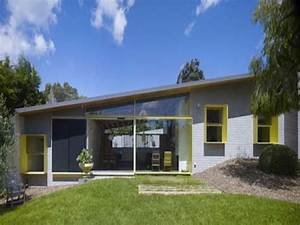 Modern House Plans 3 Bed Modern Single Storey House ...