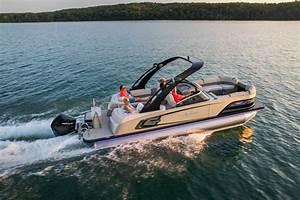 Excalibur Quad Lounge Windshield Pontoon Boat