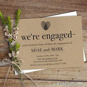 Engagement party decor ideas the overwhelmed bride for Wedding announcement gift ideas