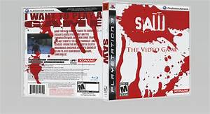 Saw: The Video Game PlayStation 3 Box Art Cover by geob01