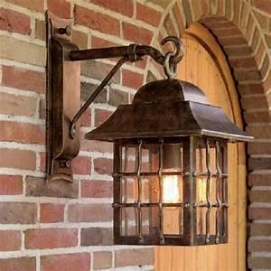 Rustikale Lampen Landhausstil : robers leuchten au enwandleuchte rustikale laterne schmiedeeisen wl3501 deutsche ~ Sanjose-hotels-ca.com Haus und Dekorationen
