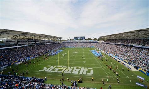 los angeles chargers home opener attendance reaches