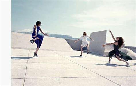 rooftop dancing editorials marie claire italia september