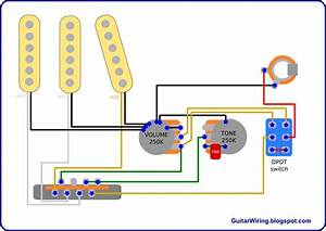 The Guitar Wiring Blog - Diagrams And Tips  Direct-through Strat Mod