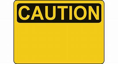Transparent Caution Blank Clipart Sign Webstockreview