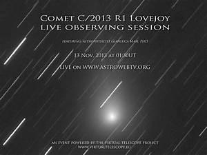 Comet C/2013 R1 Lovejoy: live observing session - 13 Nov ...