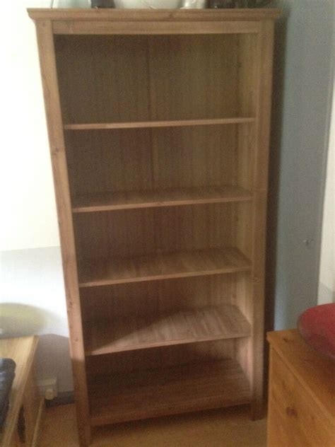 Ikea Uk Bookcases by Ikea Grevback Large Antique Pine Effect Bookcase In