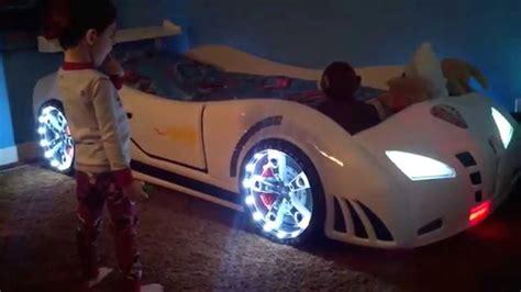 Infiniti Race car bed USA YouTube