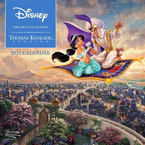 mousesteps thomas kinkade studios  disney calendars