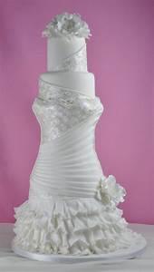 wedding dress bridal cake extraordinary cakes pinterest With wedding dress cake