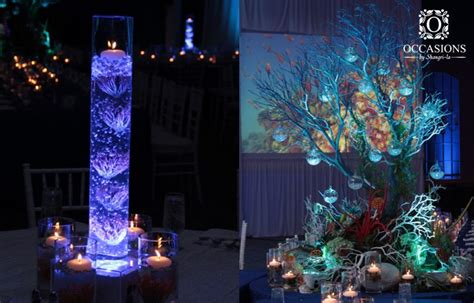 underwater themed decor underwater themed event